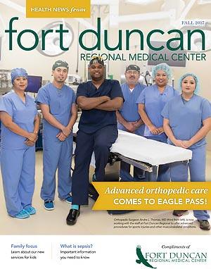 Health News Magazine Fall 2017 Cover